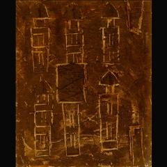 DOGON DOOR II | 65 x 50 cm |Mixta sobre tela |1998