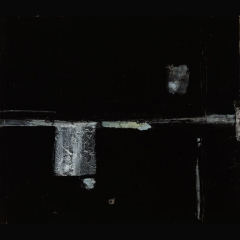 BAMBARA DOORLOCK | 80 x 70 cm |Mixta sobre cartón |2002
