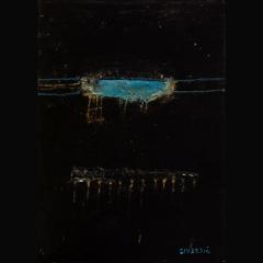 TLALOC I| 70 x 50 cm |Mixta sobre cartón|2002