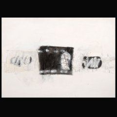 BURKA I | 100 x 70 cm | Mixta sobre cartón | 2007