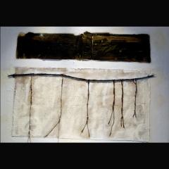 KHIPU | 92 x 73 cm | Mixta sobre tela | 2007