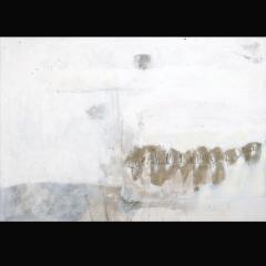 EL MURO DE LAS LAMENTACIONES I | 100 x 70 cm | Mixta sobre cartón | 2007