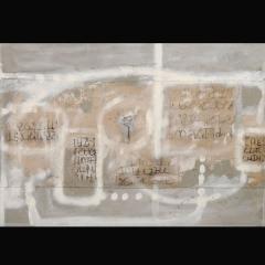 THAI| 100 x 68 cm | Mixta sobre arpillera y cartón | 2007