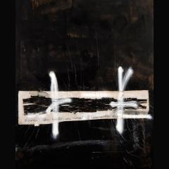 IBOGA [POST I] | 100 x 80 cm | Mixta sobre tela| 2008