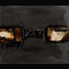 MAMBILA FETISH | 84 x 70 cm | Mixta sobre cartón| 2008